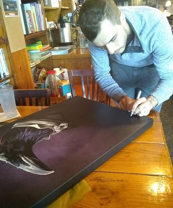 Raven Signing